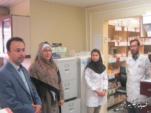 بازدید فرماندار از درمانگاه تامین اجتماعی شهرستان
