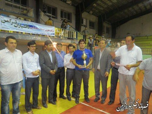 فینال مسابقات والیبال جام رمضان، یادواره شهدای شهرستان ترکمن برگزار گردید