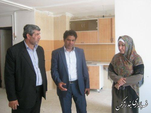 خبر خوش فرماندار شهرستان ترکمن به متقاضیان مسکن مهر مروارید بندرترکمن