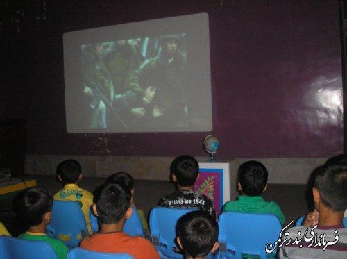 آرزوی کودکان شهرستان ترکمن برای کودکان غزه
