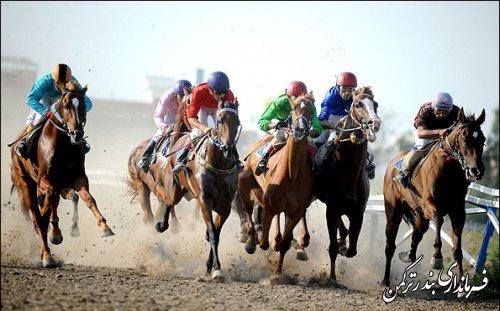 هفته چهارم کورس اسبدوانی تابستانه بندر ترکمن برگزار شد