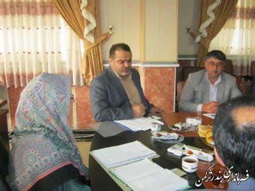 جلسه ستاد اجرایی ساماندهی اتباع غیرقانونی شهرستان ترکمن برگزار شد
