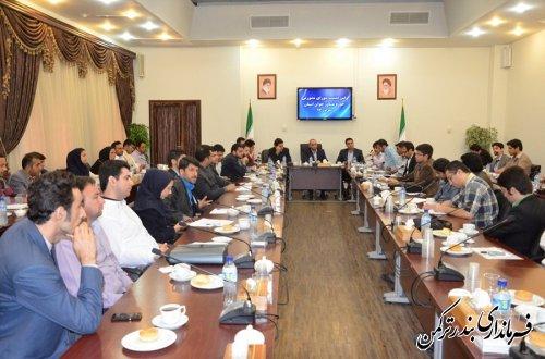 گزارش عملکرد سه ماهه حوزه مشاور جوان فرمانداری ترکمن