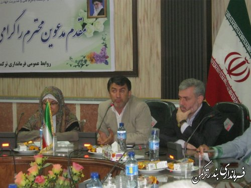 سومین جلسه مدیریت بحران شهرستان ترکمن برگزار شد