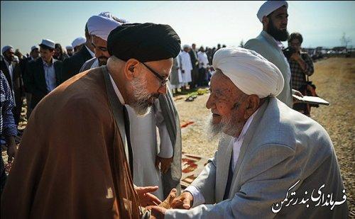 نماز عید قربان در محل عیدگاه بندرترکمن برگزار شد