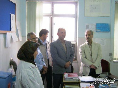 افتتاحیه راه اندازی واکسن جدید هموفیلوس آنفولانزا در قالب واکسن پنتاوالان در شهرستان ترکمن