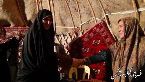 دیدار مردمی معاون رئیس جمهور با مردم شهرستان ترکمن