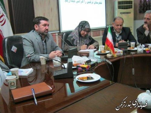 تودیع و معارفه بخشدار مرکزی شهرستان ترکمن برگزار شد