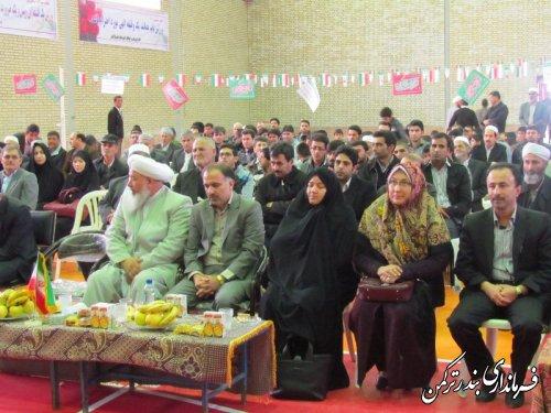 سالن ورزشی روستای قره قاشلی با حضور مدیر کل ورزش و جوانان استان افتتاح شد