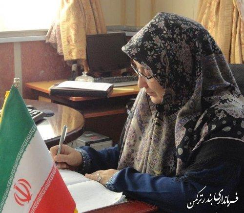 پیام قدردانی فرماندار شهرستان ترکمن از مردم جهت شرکت در راهپیمایی 22 بهمن