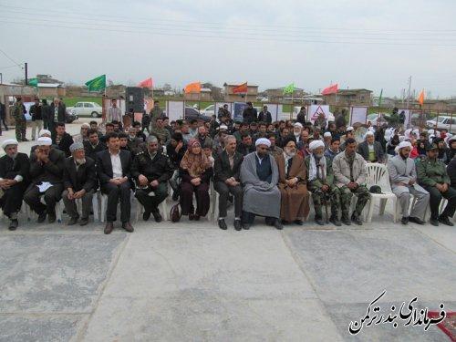 روستای اسلام تپه شهرستان ترکمن بعنوان روستای پاک اعلام شد