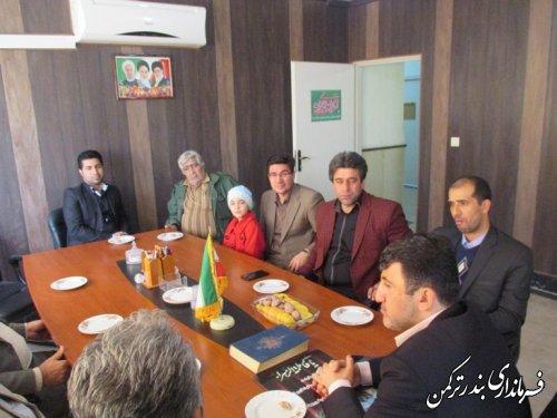 با حضور نماینده مجلس مشکلات شهرستان ترکمن بررسی شد