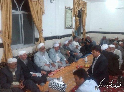 مراسم پایان تحصیلی حوزه علمیه ترویج روستای خواجه لر برگزار شد