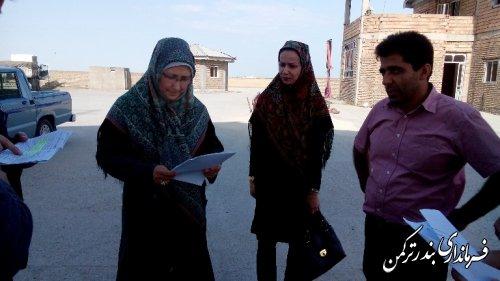 بازدید فرماندار ترکمن از کارخانه های آرد و سیلوهای سطح شهرستان