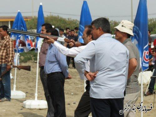 بمناسبت فتح خرمشهر، مسابقات تیراندازی در بندرترکمن برگزار شد
