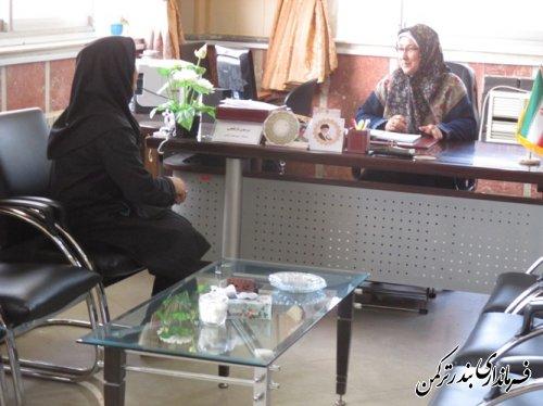 ملاقات مردمی با فرماندار ترکمن برگزار شد