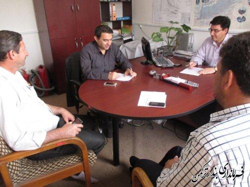 برگزاری هشتاد و پنجمین جلسه کارگروه انطباق مصوبات شورای اسلامی شهر بندرترکمن