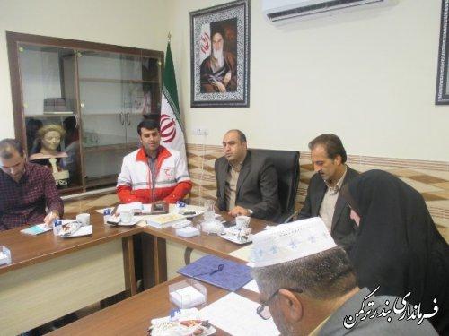 جلسه انجمن کتابخانه عمومی شهرستان ترکمن برگزار شد