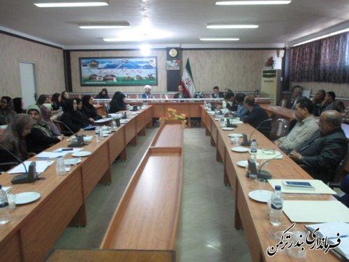 همایش خانواده اسلامی و ایرانی و در پرتو همدلی و همزبانی در شهرستان ترکمن برگزار شد