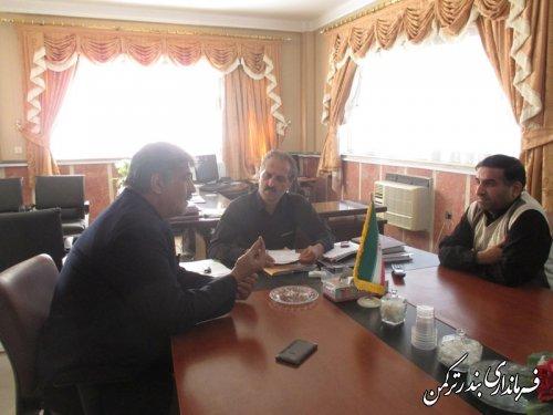 ملاقات مردمی معاون فرماندار ترکمن برگزار شد