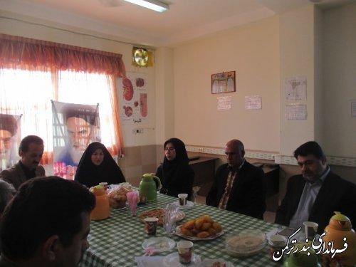برگزاری جلسه انجمن کتابخانه عمومی شهرستان ترکمن
