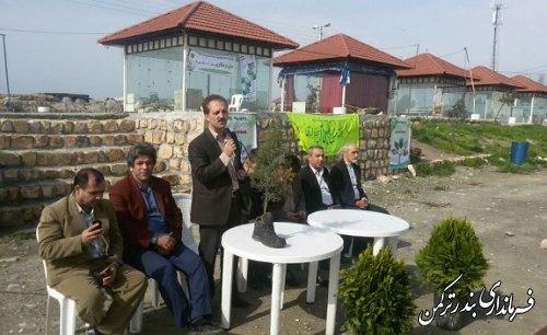 مراسم گرامیداشت هفته منابع طبیعی در اسکله بندر ترکمن برگزار شد