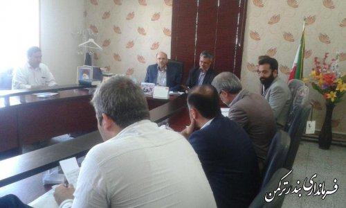 جلسه شوراي پشتيباني سواد آموزي شهرستان تركمن برگزار شد
