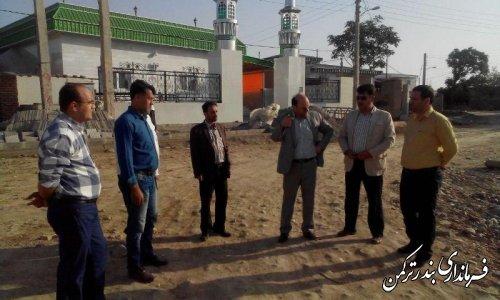 بازدید فرماندار از روستای خواجه لر