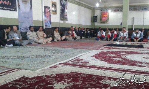 مراسم گرامیداشت سالگرد ارتحال حضرت امام خمینی (ره) و قیام خونین 15 خرداد در شهرستان ترکمن برگزار شد