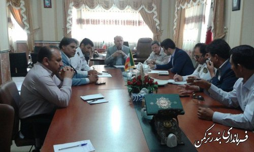 جلسه شورای ترافیک شهرستان ترکمن برگزار شد