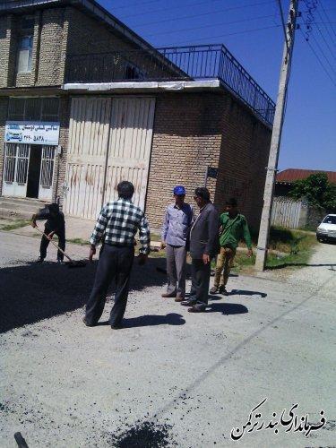 احداث 5 دهنه سرعت گاه آسفالتی استاندارد در روستای سیجوال