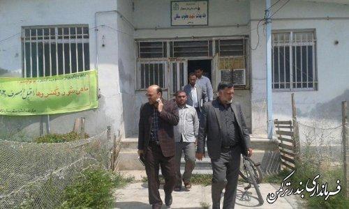 بازدید فرماندار از خانه بهداشت روستای قره قاشلی