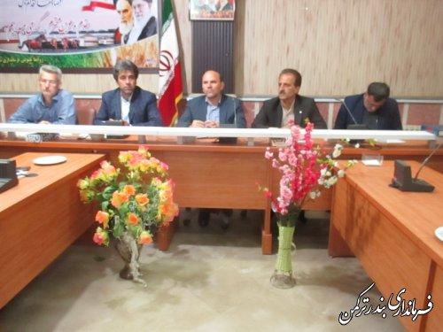 جلسه ستاد تسهیلات سفر شهرستان ترکمن برگزار شد