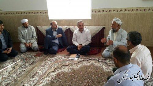 جلسه تعیین محل احداث چاه آب شرب روستای آرخ کوچک برگزار شد