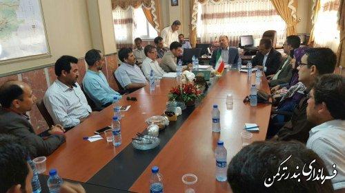 مراسم تجلیل از اصحاب رسانه شهرستان ترکمن برگزار شد