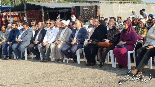 افتتاحیه اولین جشنواره فرش و صنایع دستی ترکمن در شهرستان ترکمن