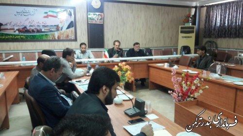 جلسه هماهنگی ستاد سرشماری نفوس و مسکن شهرستان ترکمن برگزار شد
