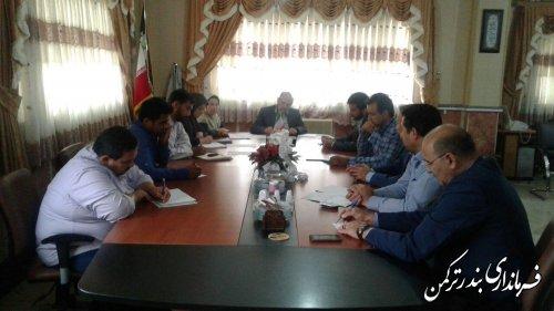 جلسه گروه کاری اشتغال شهرستان ترکمن برگزار شد