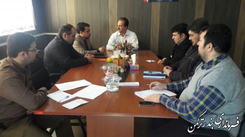برگزاری جلسه کمیته فناوری ستاد انتخابات شهرستان ترکمن