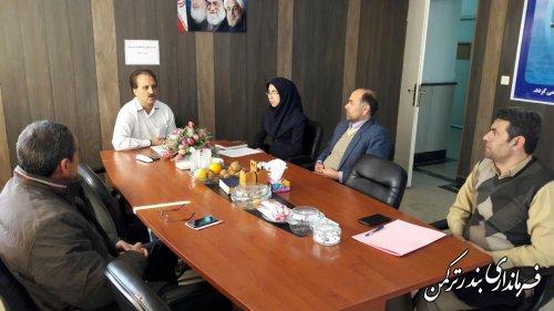 برگزاری جلسه کمیته حقوقی ستاد انتخابات شهرستان ترکمن