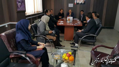 برگزاری ششمین جلسه ستاد انتخابات شهرستان ترکمن
