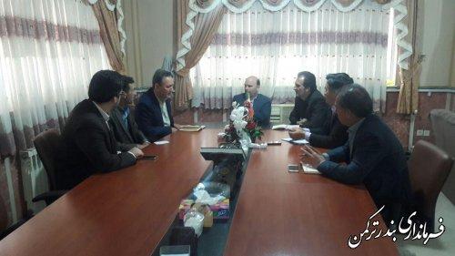 جلسه هماهنگی تامین وسایل نقلیه جهت برگزاری انتخابات شهرستان ترکمن
