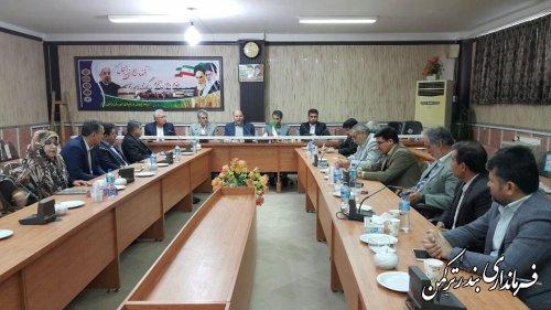 برگزاری جلسه تشکیل هیئت اجرایی دوازدهمین دوره انتخابات ریاست جمهوری شهرستان ترکمن
