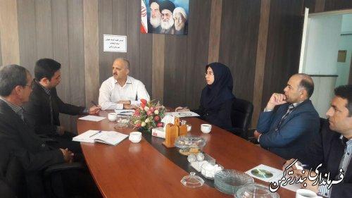 برگزاری دومین جلسه  کمیته حقوقی ستاد انتخابات  شهرستان ترکمن