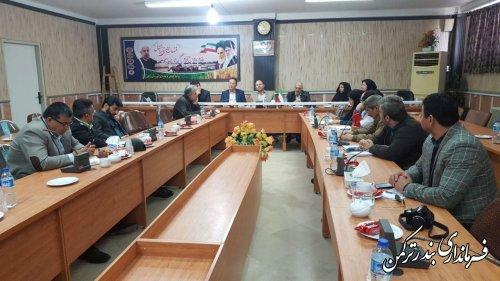 اولین جلسه ستاد ساماندهی امور جوانان سال 96 شهرستان ترکمن برگزار شد