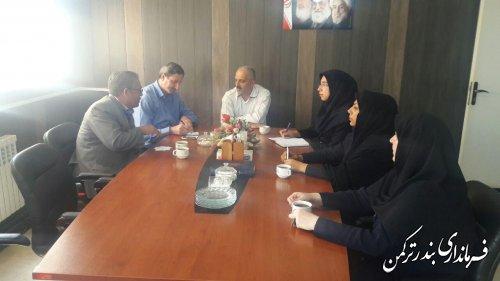 جلسه کمیته اطلاع رسانی ستاد انتخابات شهرستان ترکمن برگزار شد