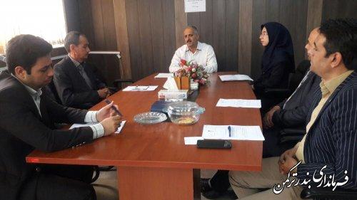 چهارمین جلسه کمیته حقوقی ستاد انتخابات شهرستان ترکمن برگزار شد