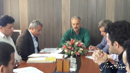 جلسه بررسی مشکلات واحد صنعتی کشتارگاه دام و طیور گلستان برگزار شد