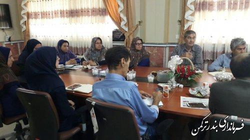 برگزاری دومین جلسه انجمن کتابخانه عمومی شهرستان ترکمن