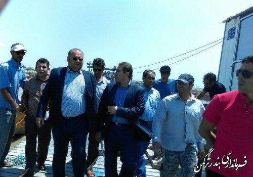 حضور بازرس کمیته ارزیابی و رسیدگی به شکایات ستاد خدمات سفر استان در شهرستان ترکمن